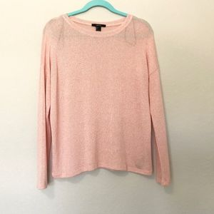 Forever 21 Womens Pink Light Weight Sweater Small